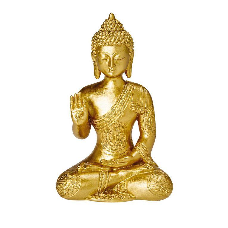 Living & Co Buddha Ornament Gold, , hi-res