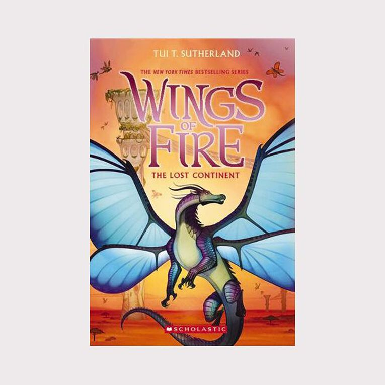 Wings of Fire #11 The Lost Continent by Tui T Sutherland, , hi-res