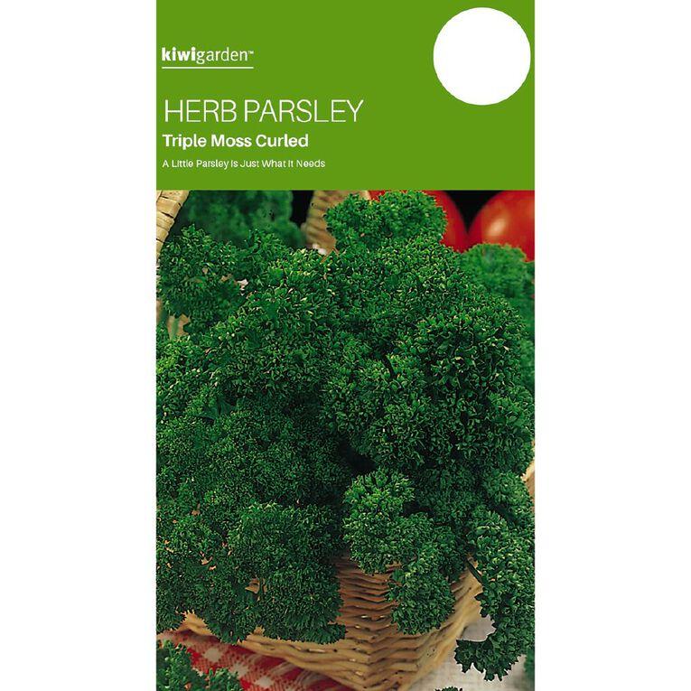 Kiwi Garden Herb Parsley Triple Moss Curled, , hi-res