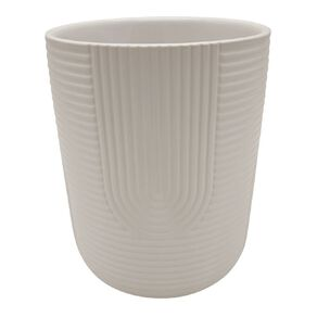 Kiwi Garden Pattern Ceramic White 14cm