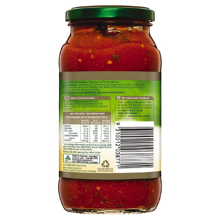 Dolmio Extra Bolognese Pasta Sauce 500g, , hi-res