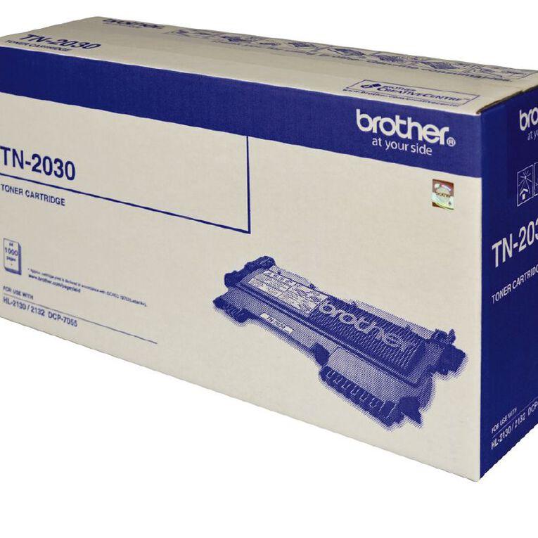 Brother Toner TN2030 Black (1000 Pages), , hi-res