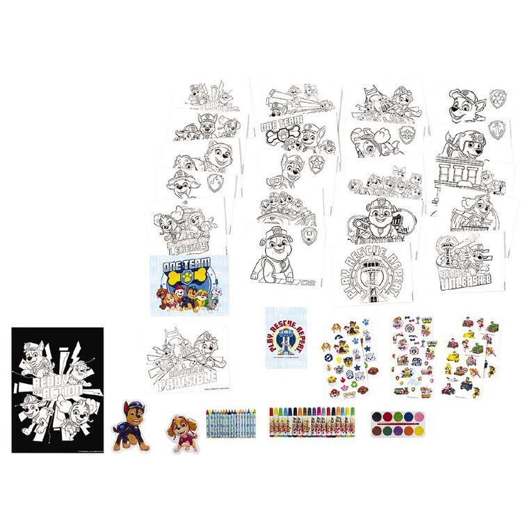 Paw Patrol Deluxe Colour & Activity Set, , hi-res
