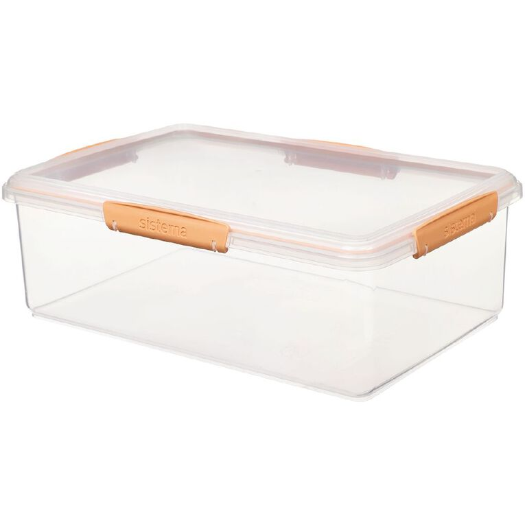 Sistema Klip it Rectangular Container Jewel Tone Assorted 7L, , hi-res