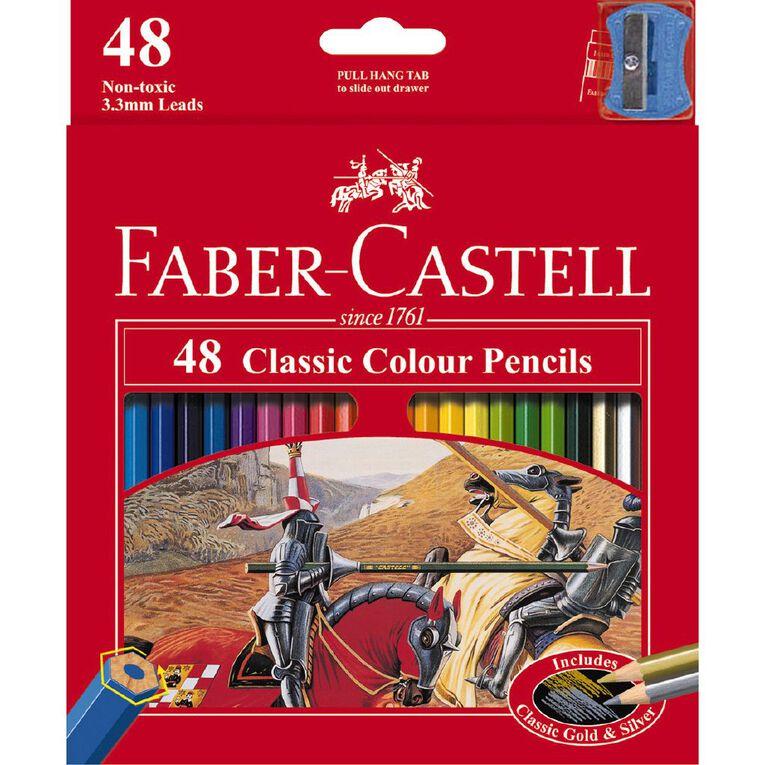 Faber-Castell Classic Colour Pencils 48 Pack, , hi-res