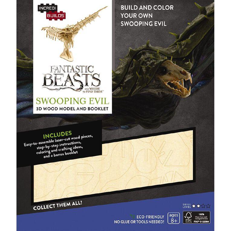 Incredibuilds Fantastic Beasts Swooping Evil 3D Wooden Model, , hi-res