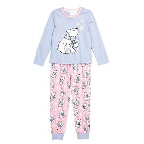 H&H Girls' Long Sleeve Pyjama