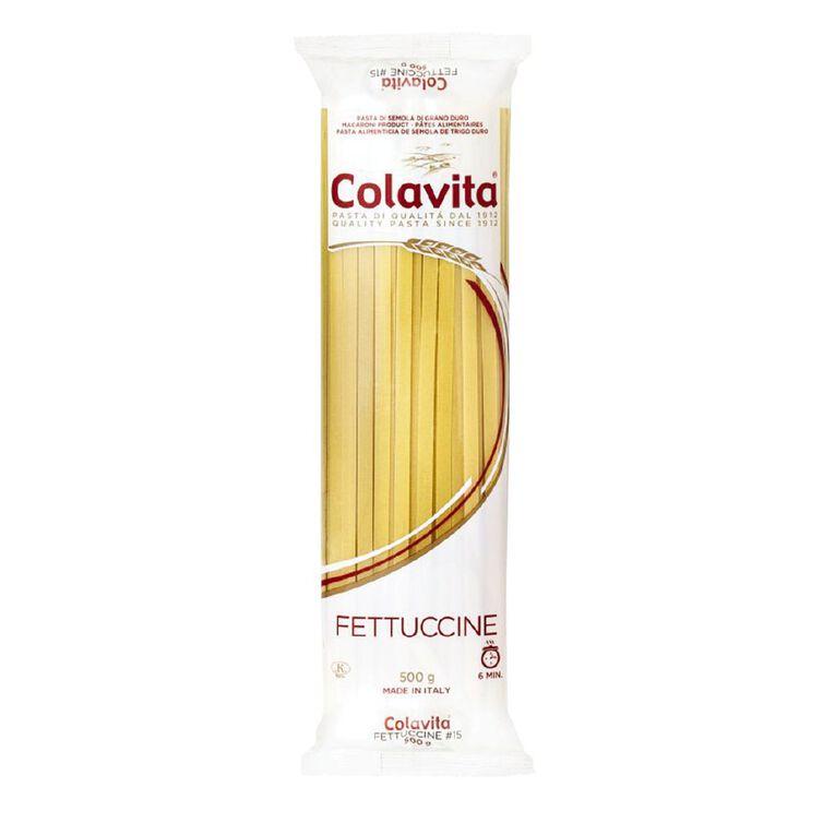 Colavita Fettucine Pasta 500g, , hi-res