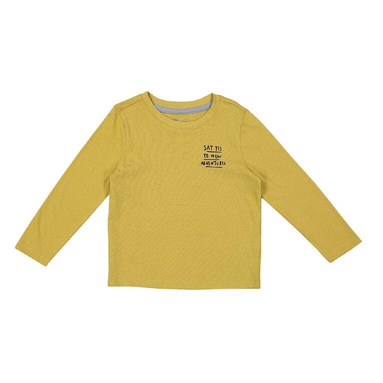 Young Original Toddler Long Sleeve 2 Pack Tees, Grey Mid BEAR, hi-res