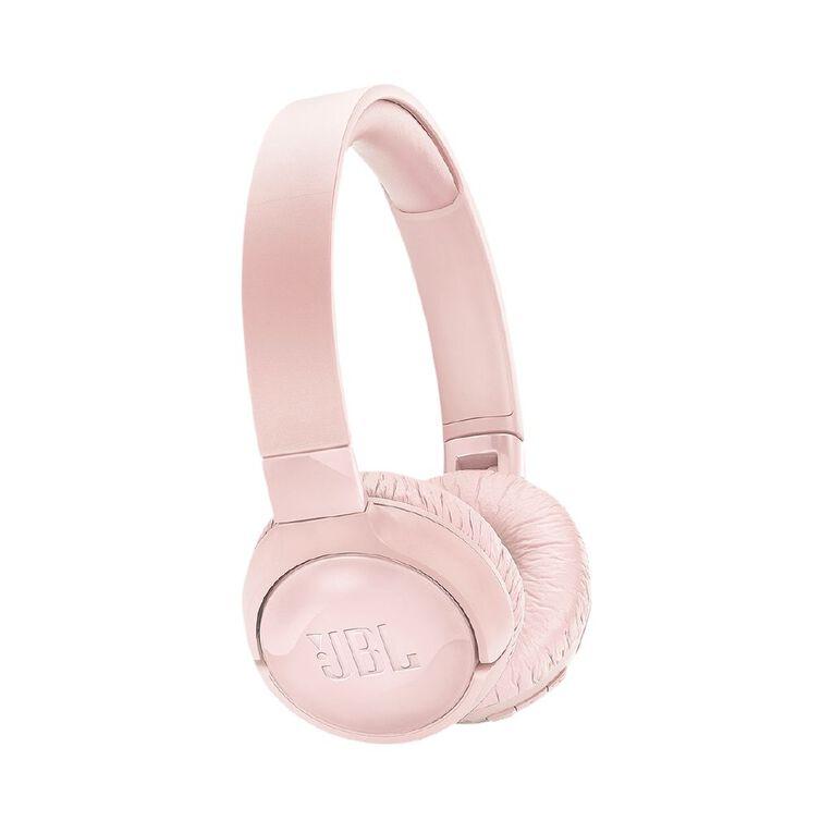 JBL T600BT On-Ear NC Wireless Headphones Pink, , hi-res