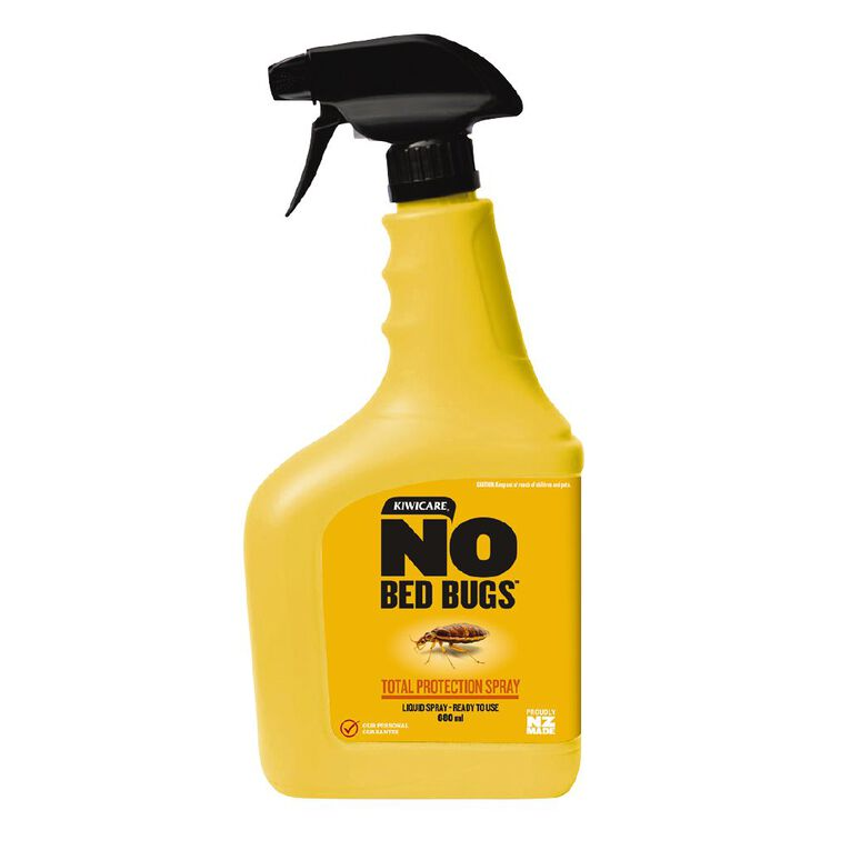 Kiwicare NO Bed Bugs Total Protection Spray Ready To Use 680ml, , hi-res