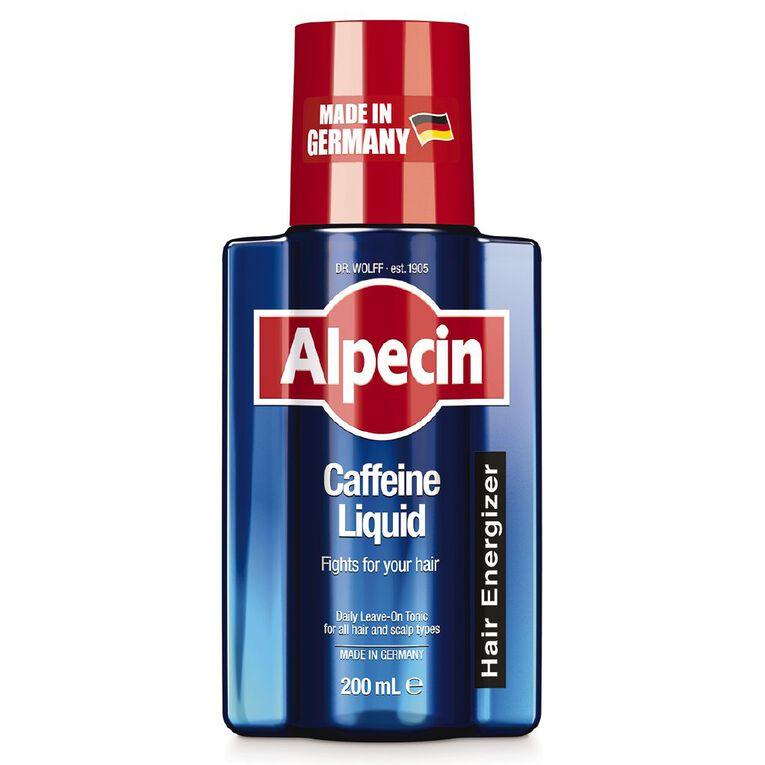 Alpecin Caffeine Liquid Scalp Tonic 200ml, , hi-res