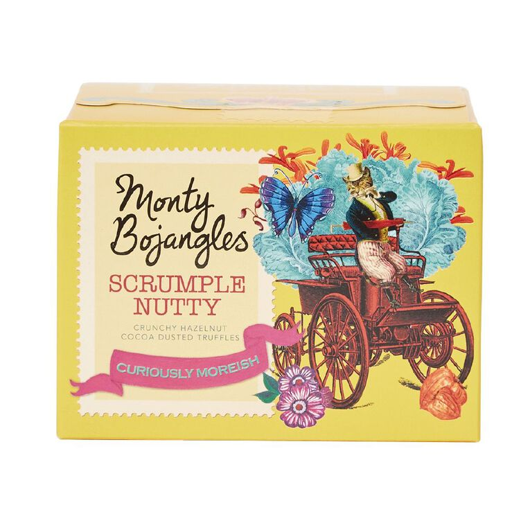 Monty Bojangles Scrumple Nutty Cocoa Dusted Truffles 150g, , hi-res