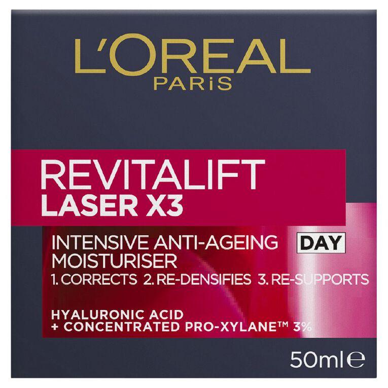 L'Oreal Paris Revitalift Laser x3 Day Cream 50ml, , hi-res