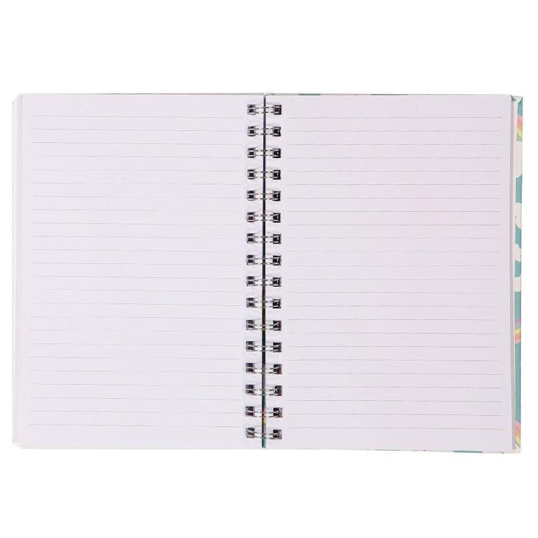 Kookie Novelty20 Lenticular Unicorn Notebook Pink A5, , hi-res