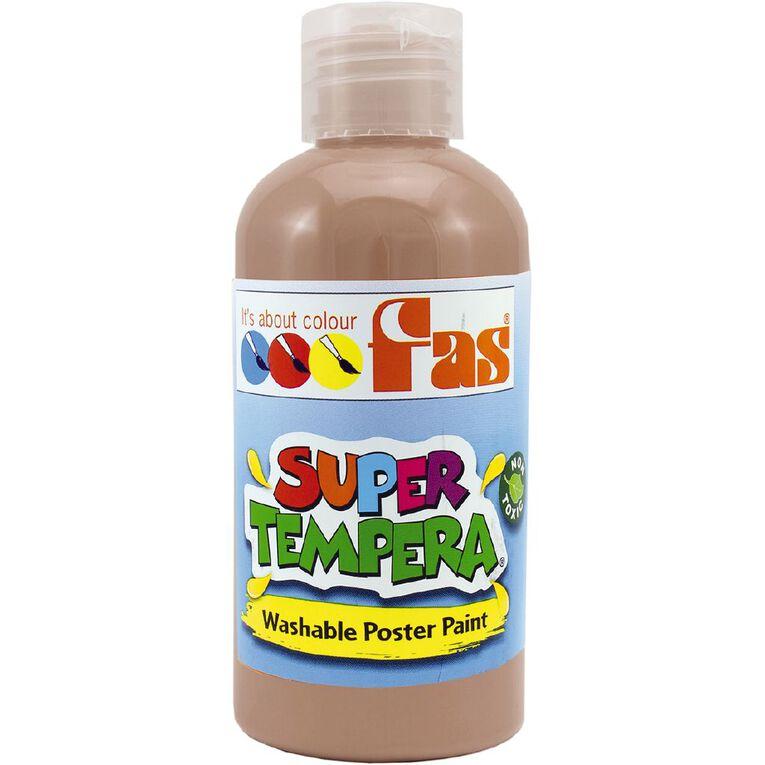 FAS Paint Super Tempera 250ml Umber Brown, , hi-res