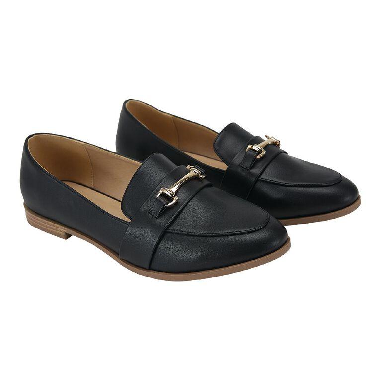 H&H Harper Loafer Shoes, Black, hi-res