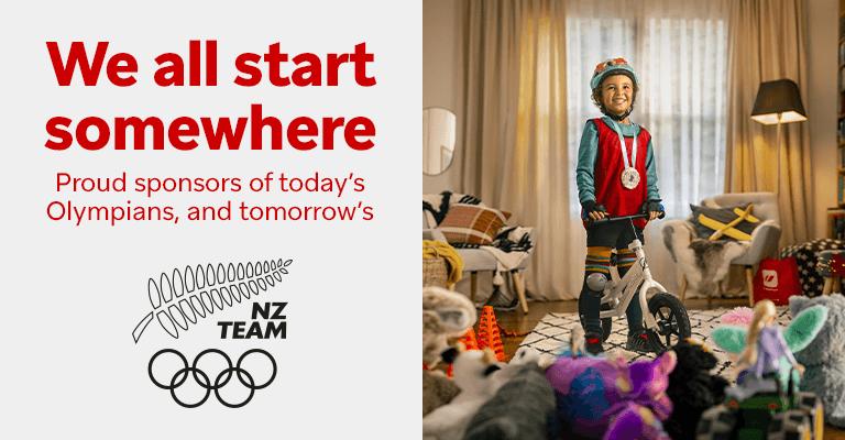 We all start somewhere : NZ TEAM